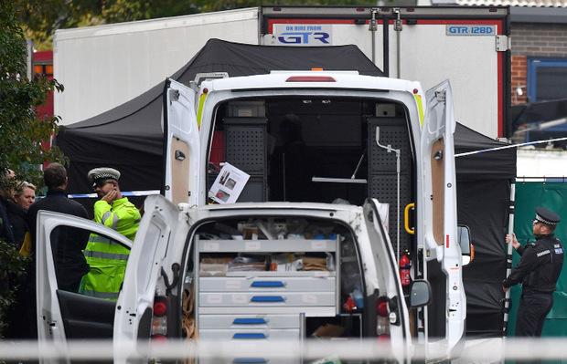 Der Lkw-Sattelauflieger war in einem Industriegebiet abgestellt worden.