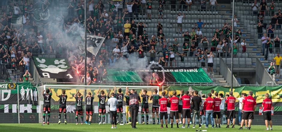 Auf stattlichen Besuch und ein Erfolgserlebnis hofft der FC Wacker heute im Tivoli-Schlager gegen Ried.
