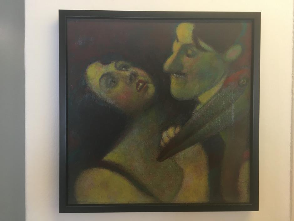 Die Bildwelt, die der 79-jährige Spanier Ezequiel López Garçia in der Innsbrucker Galerie Flora ausbreitet, ist skurril vom Feinsten.