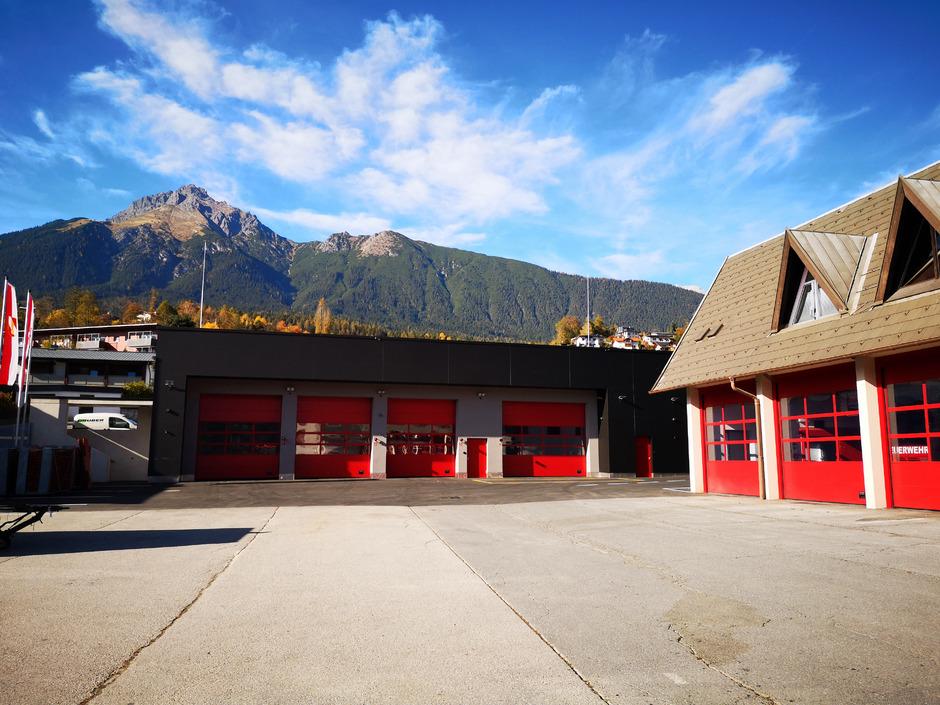 Mehr Platz hat die Imster Feuerwehr dank eines Erweiterungsbaus.