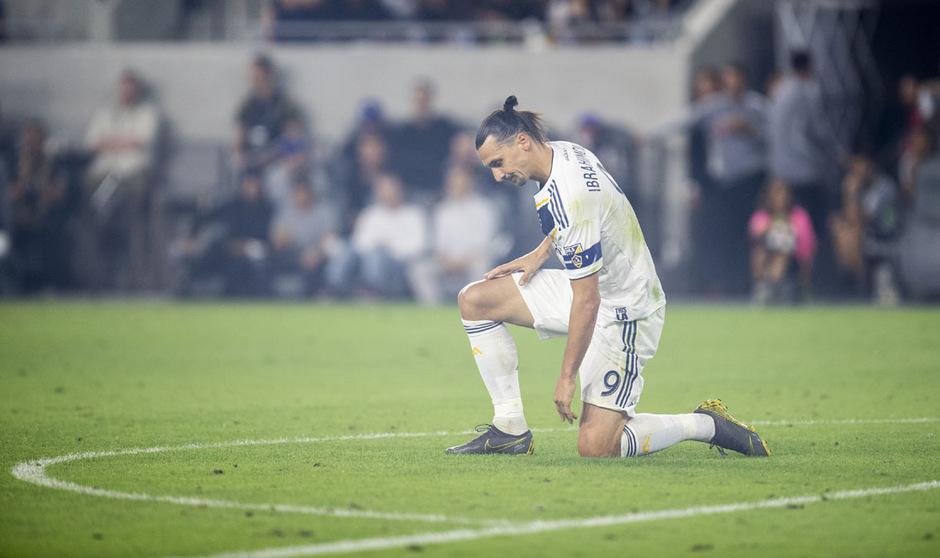 Zlatan Ibrahimovic und die Galaxy mussten vorzeitig die Segel streichen.
