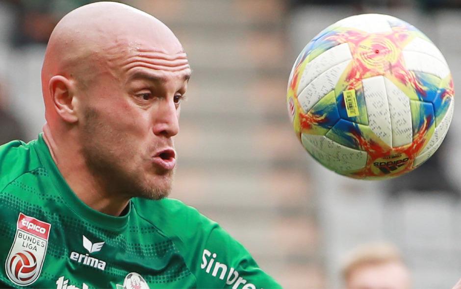 Den Ball hat Lukas Grgic immer im Blick – der Oberösterreicher verspricht für das Austria-Match ein aggressives WSG-Team.