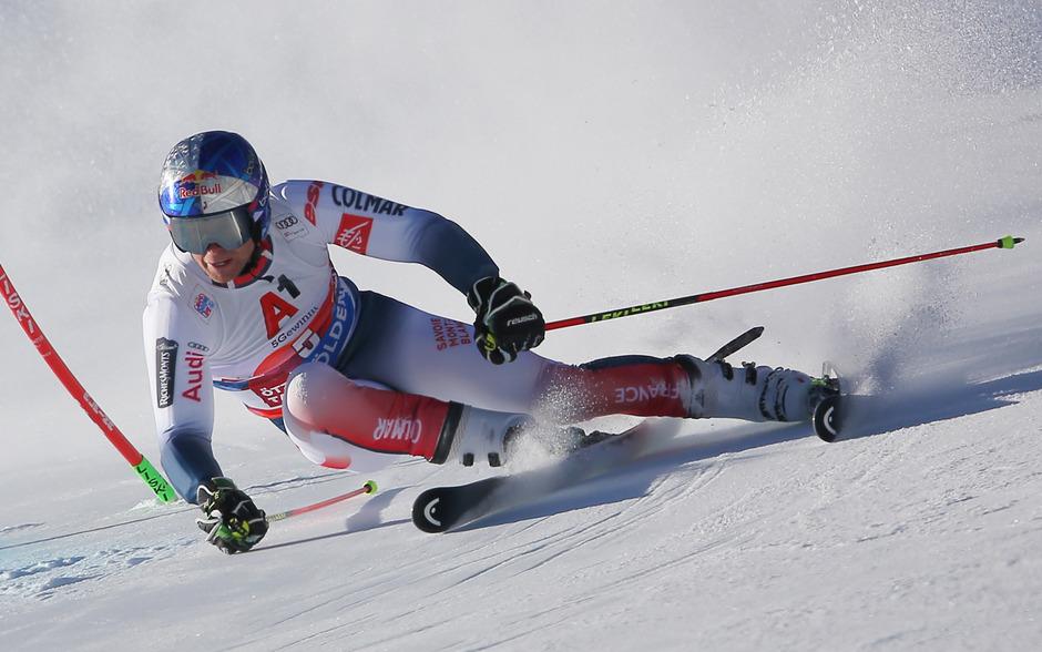 Der Franzose Alexis Pinturault war zum Saisonauftakt am Rettenbachferner nicht zu schlagen.