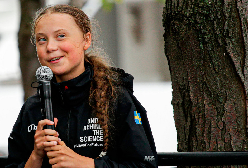 Die Klimaaktivistin Greta Thunberg.