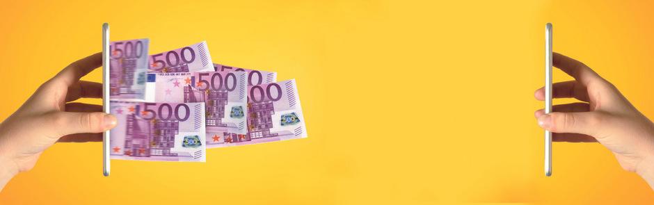 DIe Zeiten ändern sich: Vom Tauschhandel über Bargeld und Bankkarten bis zum Bezahlen mit dem Handy.