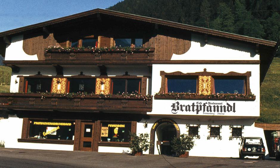 Einst: In Josef und Barbara Stocks Restaurant Bratpfandl arbeiteten neun Mitarbeiter.