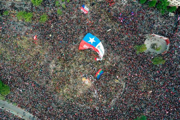 Über eine Millione gingen auf die Straße.