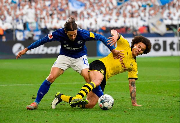Das Revierderby zwischen Schalke und Dortmund war hartumkämpft, sah aber keinen Sieger.