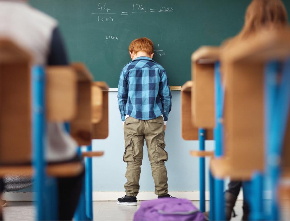 Kinder mit Lernschwächen leiden. Bleiben diese unbehandelt, drohen letztlich auch gravierende Probleme im späteren Arbeitsleben.