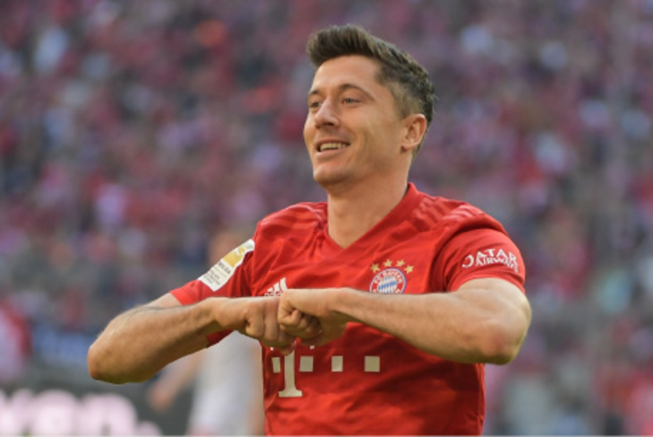Nicht zu stoppen: Bayern-Tormaschine Robert Lewandowski.