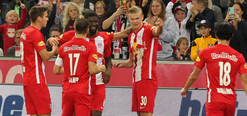 Die Salzburger durften über einen späten Sieg jubeln.