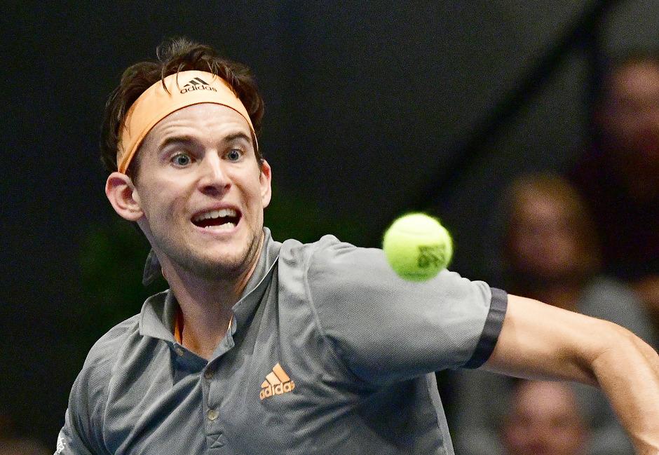 Dominic Thiem kämpfte sich zu seinem ersten Titel bei den Erste Bank Open in Wien.