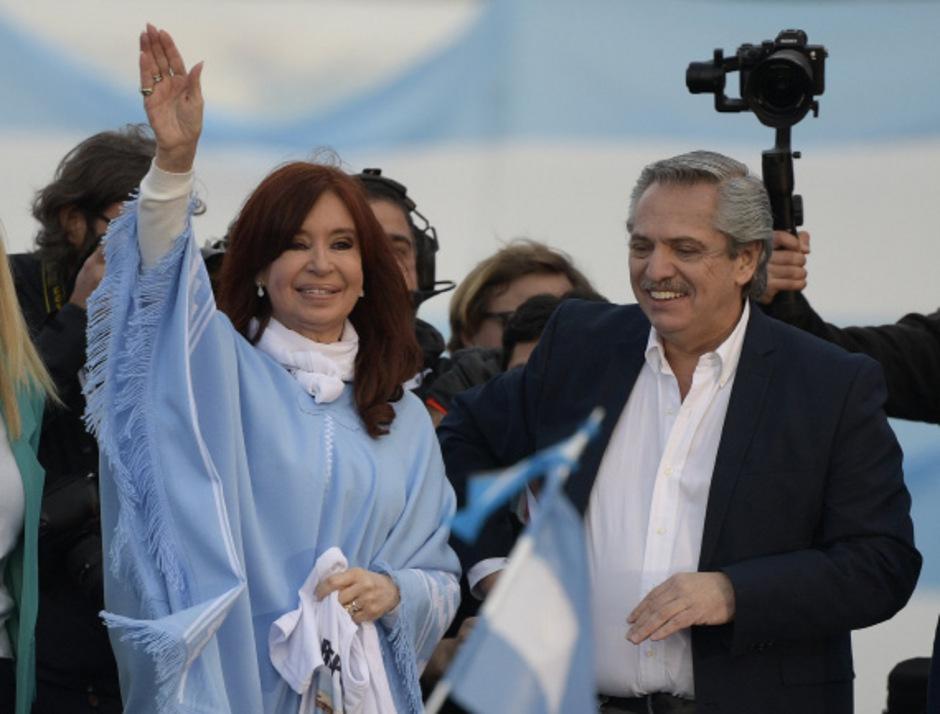 Alberto Fernandez und Cristina Kirchner werden die Geschicke Argentiniens übernehmen.