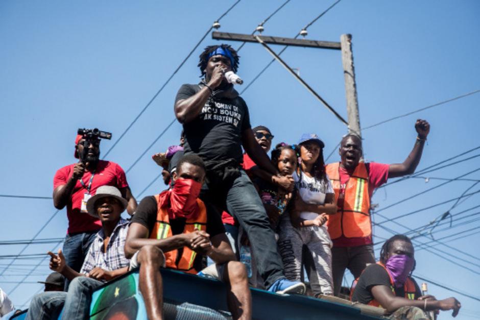 Die Proteste auf Haiti endeten für zwei Menschen tödlich.