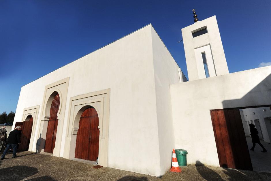 Vor der Moschee in Bayonne fielen die Schüsse.