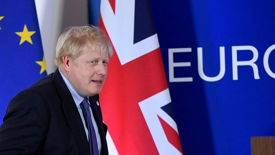 Premierminister Boris Johnson wollte Großbritannien ursprünglich am 31. Oktober aus der EU führen.