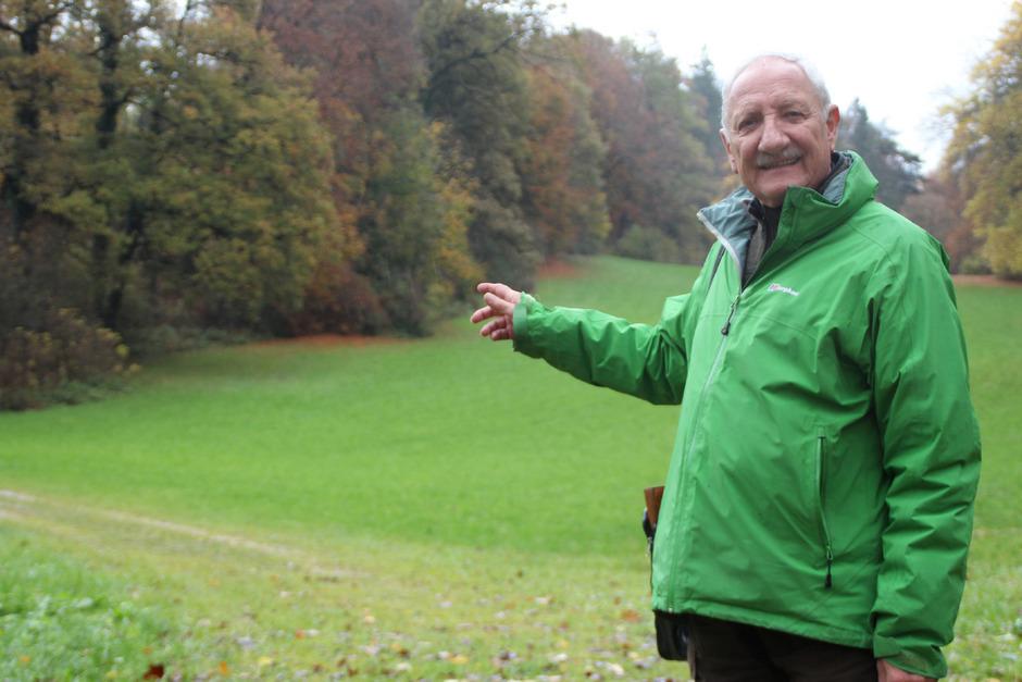 Zufrieden ist der ehemalige Landesforstdirektor Hubert Kammerlander mit der Entwicklung am ehemaligen Sorgenkind Matzenköpfl.