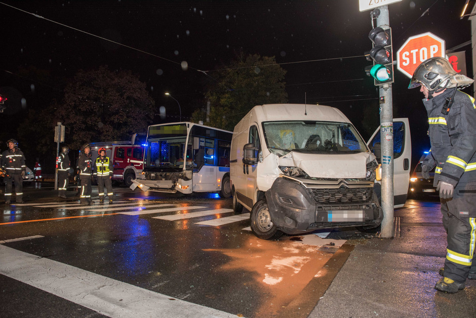 Zu dem Unfall kam es im Stadtteil Saggen.