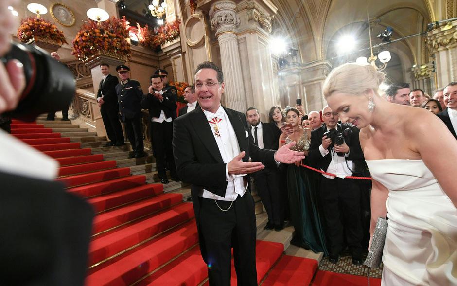 Der befreundete Regisseur begleitete Strache mit der Kamera (Symbolbild).