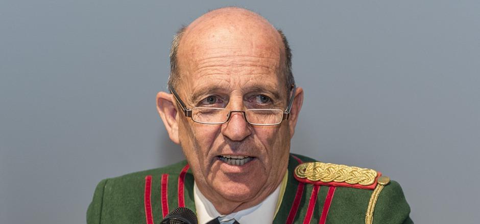 Fritz Tiefenthaler zieht sich als Landeskommandant der Schützen im April 2020 zurück.