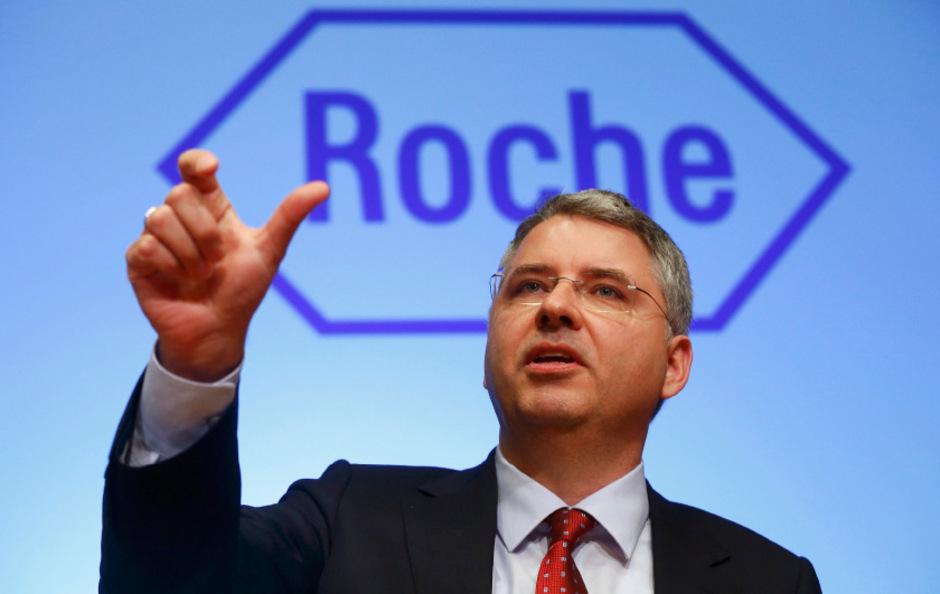 Severin Schwan steht seit 11 Jahren an der Spitze des Pharma-Konzerns Roche.