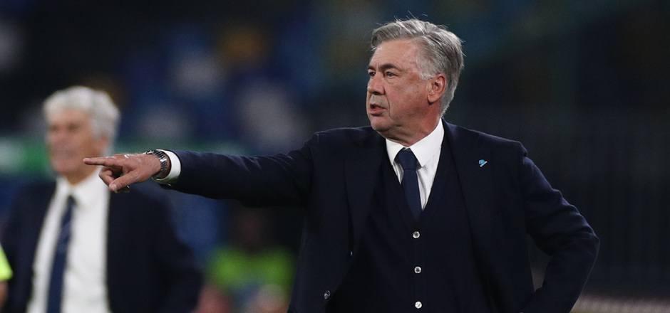 Napoli-Coach Carlo Ancelotti.