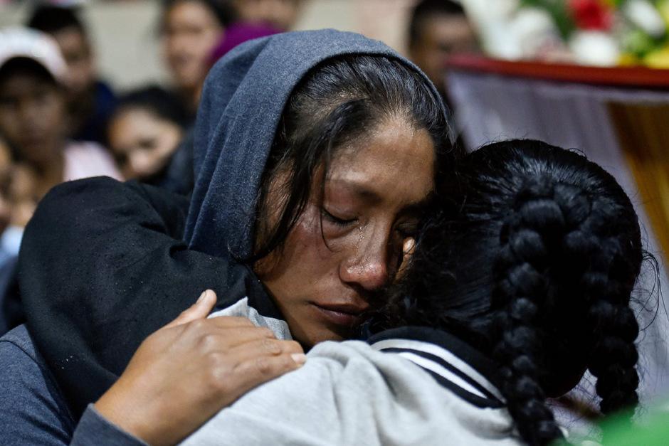 In der indigenen Gemeinschaft herrscht tiefe Trauer.