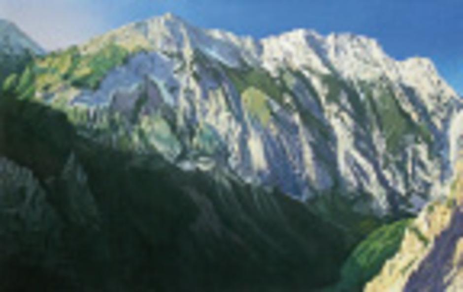 Die Bergmotive lassen Nino Malfatti – auch fern der Heimat – bis heute nicht los.