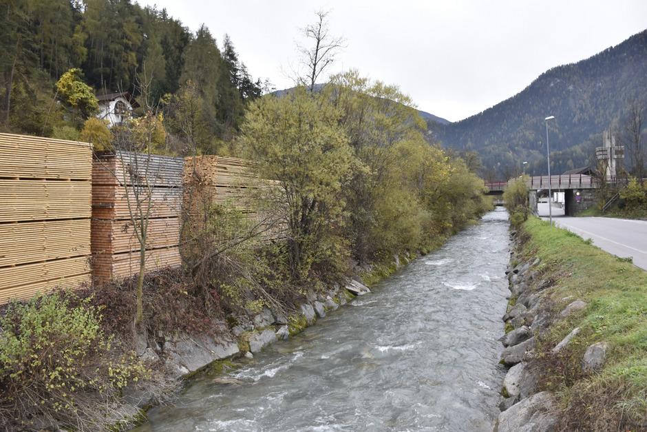 Der untere Abschnitt des Pigerbaches hat Priorität: Er muss im Extremfall bis zu 90 m³ Wasser in Richtung Inn abtransportieren.
