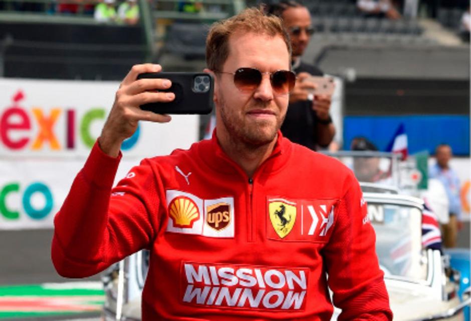 Vor dem US-Grand-Prix am Sonntag in Austin blickte Sebastian Vettel wieder optimistisch nach vorn – und will nach so vielen Niederlagen im ewigen Duell mit Mercedes doch noch gewinnen.