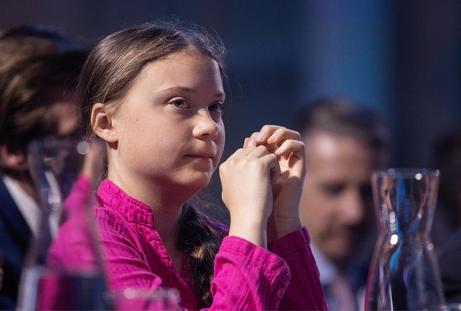 Greta Thunberg ist bis Freitagnachmittag in Wien und nimmt am Klimastreik teil.