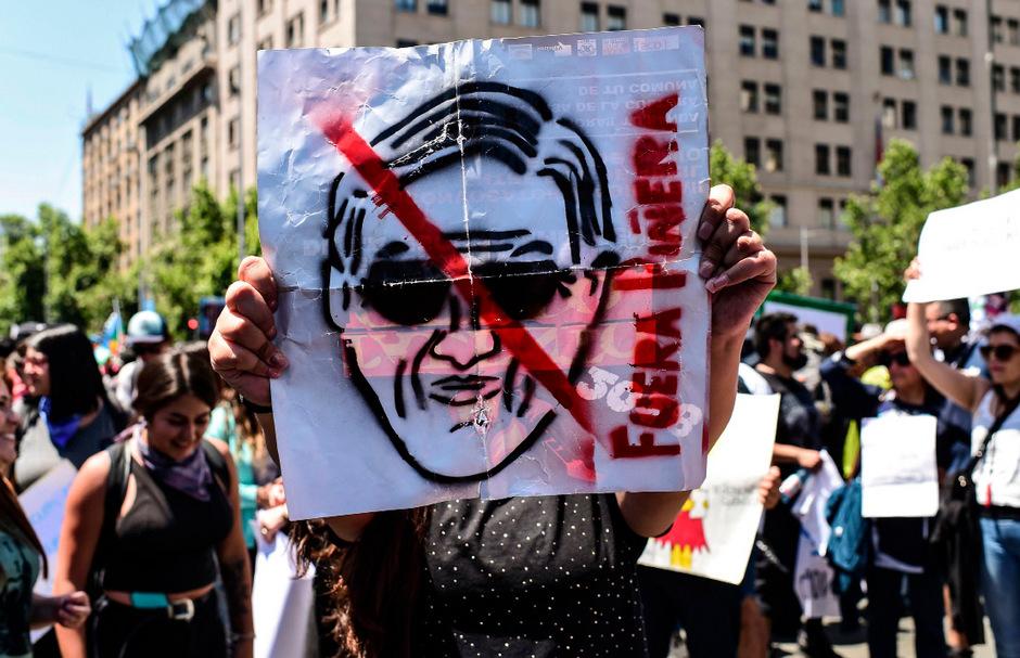 Wegen der Unruhen findet die Konferenz nicht wie geplant in Chile statt.