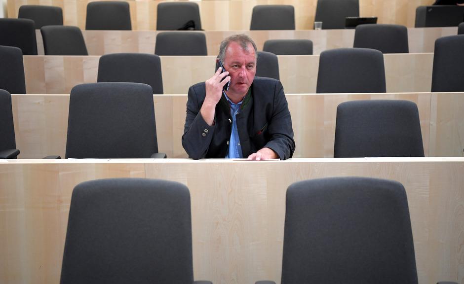 Wolfgang Zanger sitzt für die FPÖ im Nationalrat.