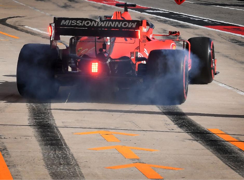 Sebastian Vettel ist nicht der einzige Fahrer, der den schlechten Streckenzustand in Austin kritisiert.