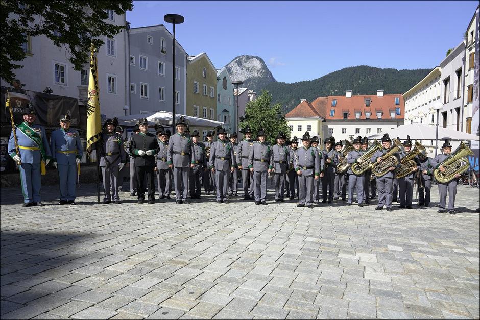 Die Orig. Tiroler Kaiserjägermusik lädt am 8. Dezember wieder zu ihrem Galakonzert im Congress Innsbruck.