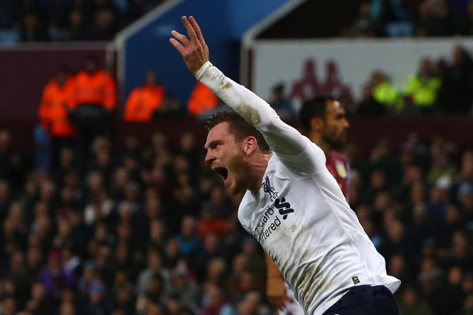 Andy Robertson erzielte für Liverpool den Ausgleich in der 87. Minute.