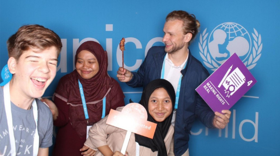Lukas Hanser konnte auch viele Jugendliche aus anderen Kulturen und Ländern kennen lernen und Freundschaften schließen