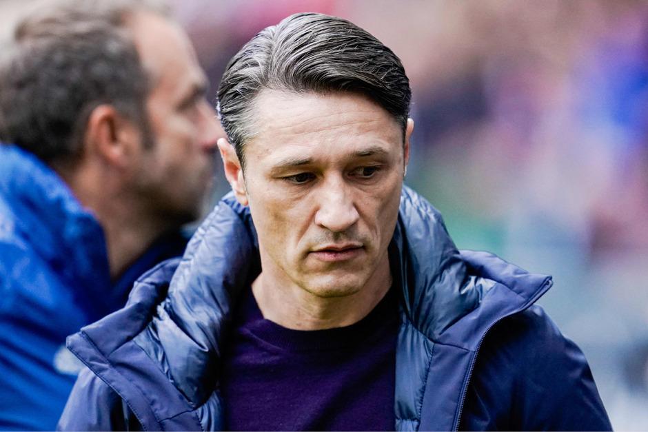 Niko Kovac wurde zuletzt wegen der Spielweise seiner Bayern scharf kritisiert. Am Samstag setzte es dann eine 1:5-Schlappe bei Frankfurt.