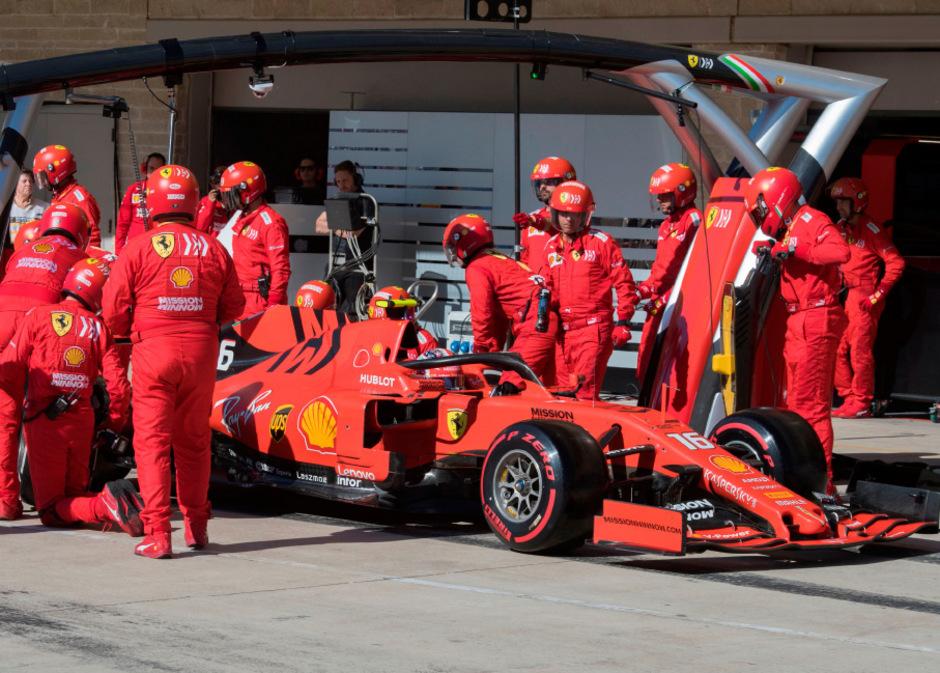 Bei Ferrari ging am Renn-Wochenende in den USA wieder einiges schief.