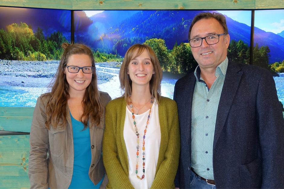 Das Team des Naturparks Tiroler Lech mit Yvonne Markl, Marlene Salchner und Heiner Ginther (v.l.) zieht positive Bilanz.