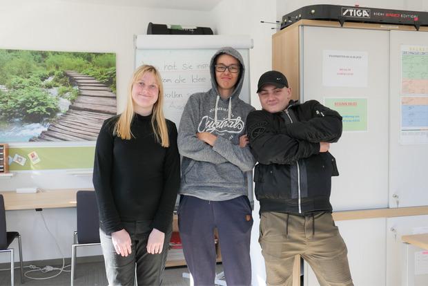 Katharina, Stefan und Jonas (v.l.)