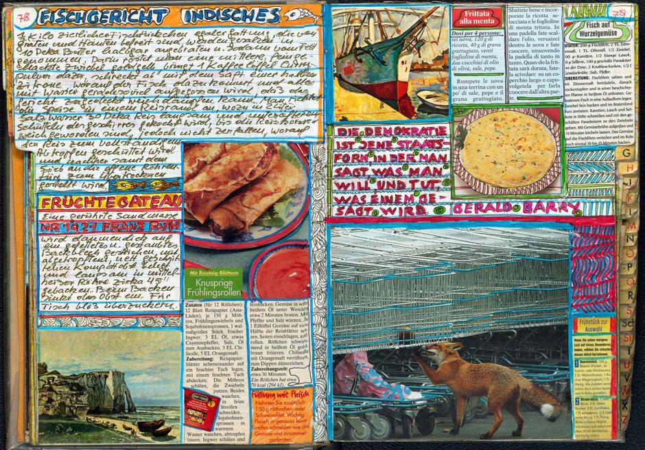 Ein Auszug aus Martha Murphys 400 Seiten starkem künstlerischen Kochbuch. Wer den Druck mit 35 Euro mitfinanziert, erhält bei Druck ein Exemplar. Ansonsten wird das Geld zurückgezahlt.