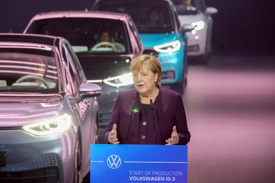 Deutschlands Bundeskanzlerin Angela Merkel.