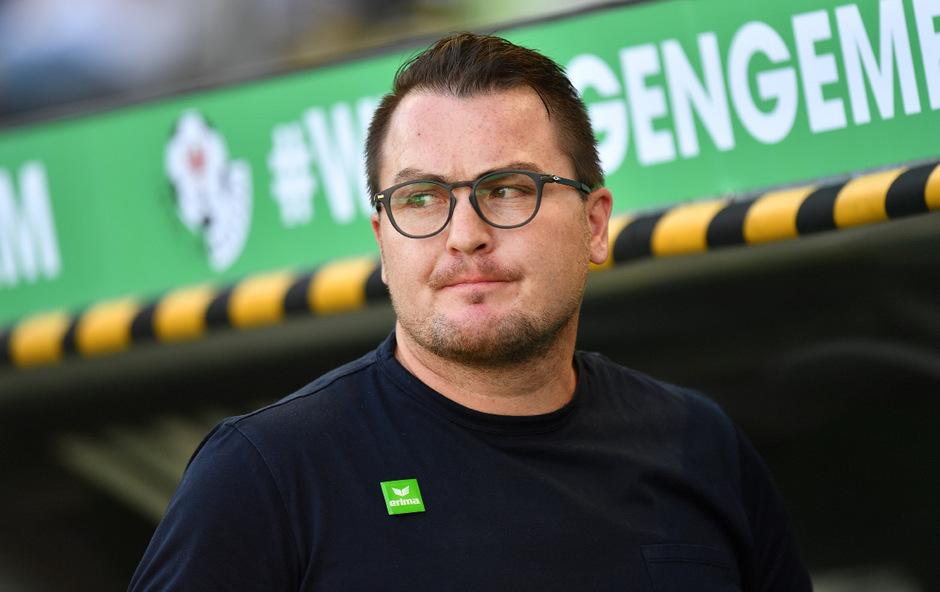 WSG-Sportmanager Stefan Köck versucht die Ruhe zu bewahren.