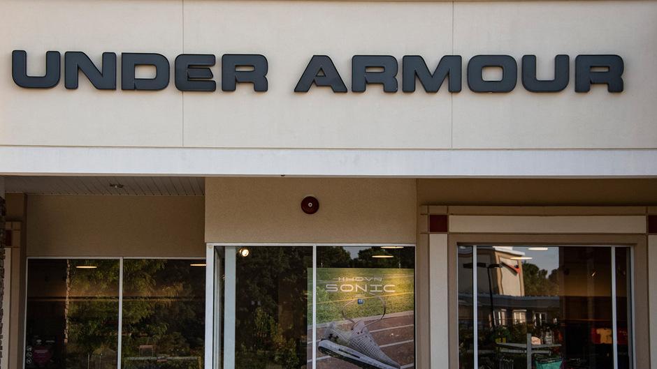Bei Under Armour liefen die Geschäfte zuletzt besser als erwartet.