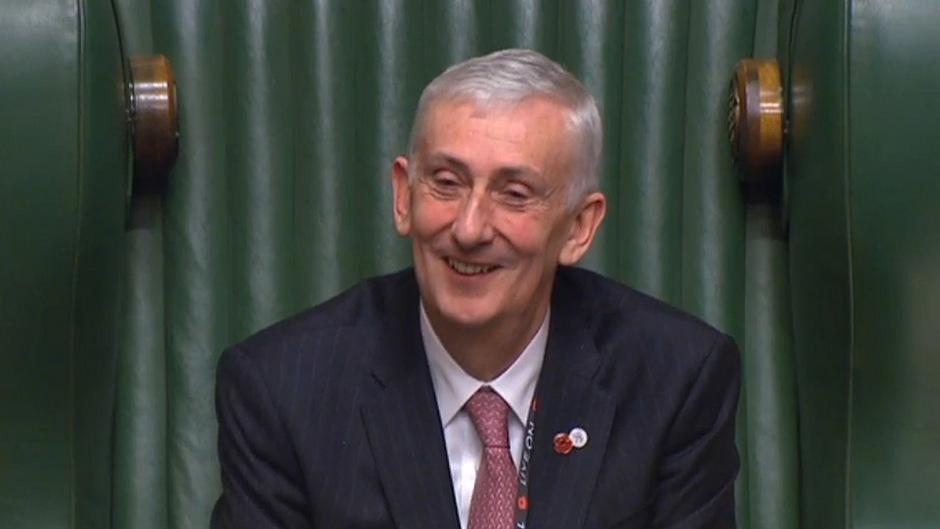 Lindsay Hoyle war die vergangenen zehn Jahre der Stellvertreter von John Bercow. Nun trat er dessen Nachfolge an.