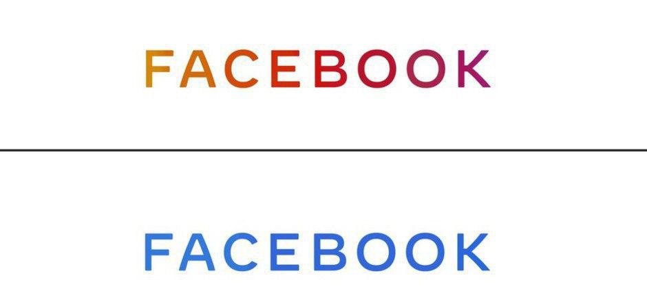 Das neue Logo des Facebook-Konzerns unterscheidet sich vom Logo des Online-Netzwerks.