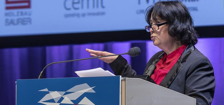 Die deutsche Rechtsanwältin Séyran Ates nahm gestern beim Tiroler Wirtschaftsforum kein Blatt vor den Mund.