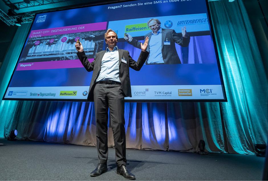 Andreas Bierwirth leitet seit 2012 T-Mobile Austria, das nach Übernahme von UPC unter der Marke Magenta Telekom firmiert.