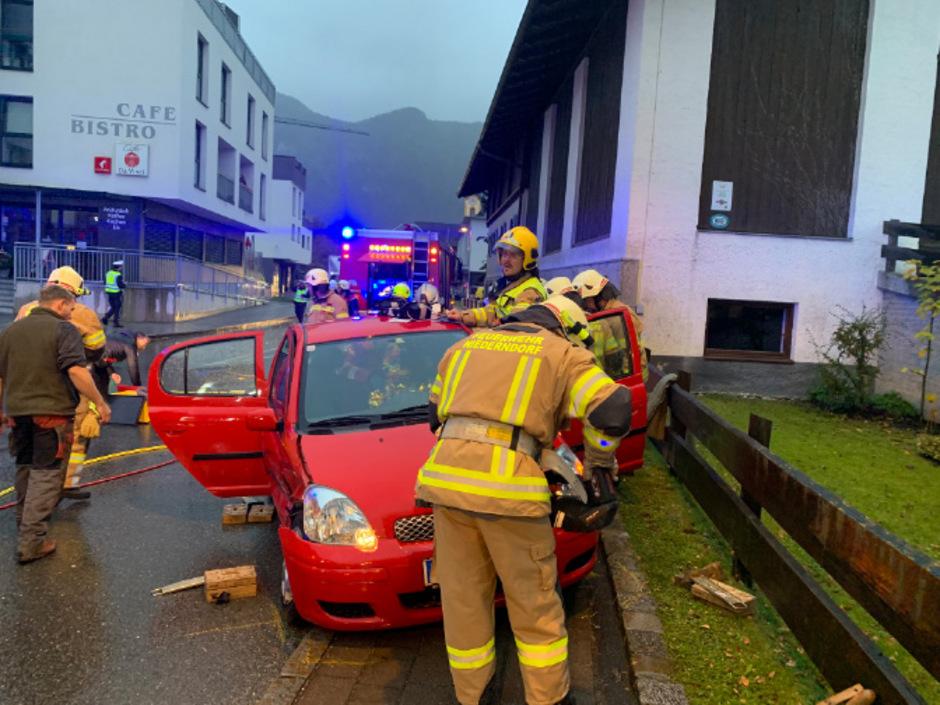 Die Feuerwehren Ebbs und Niederndorf standen im Einsatz.
